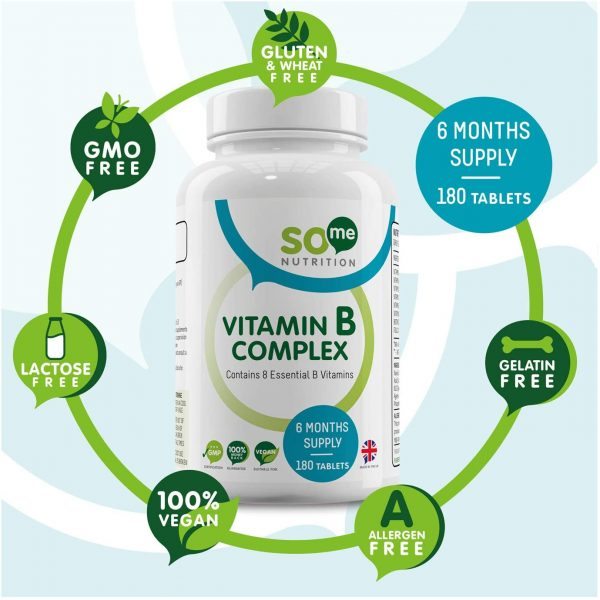 So Me Nutrition Vitamin B Complex benefits