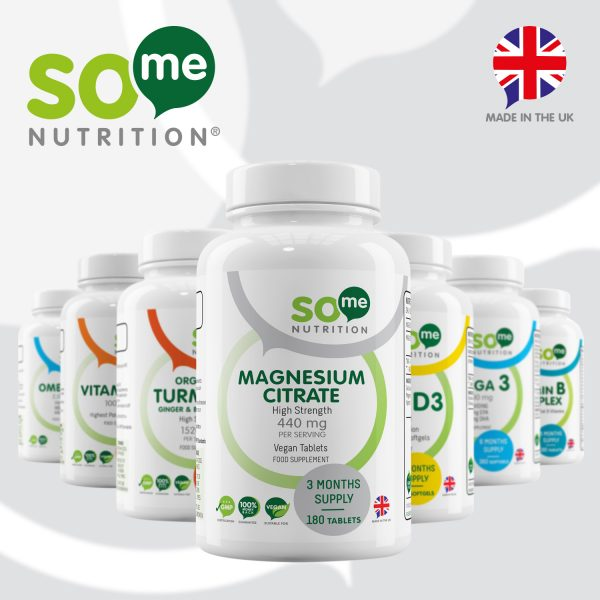 So Me Nutrition Magnesium Citrate Product Range