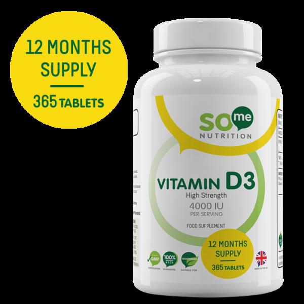 So Me Nutrition Vitamin D3